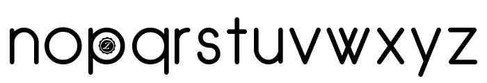 Zilap Natural Font LOWERCASE