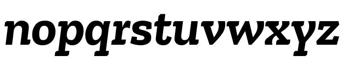 Zilla Slab Bold Italic Font LOWERCASE