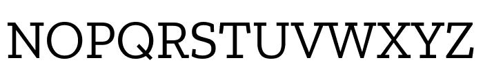 Zilla Slab Font UPPERCASE