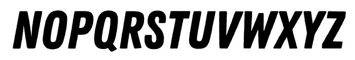 Zing Rust Demo Base Font UPPERCASE