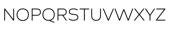 Zing Sans Rust Light Demo Base Font UPPERCASE