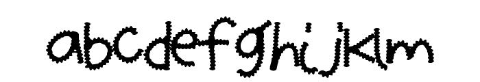 ZipperFries Font UPPERCASE
