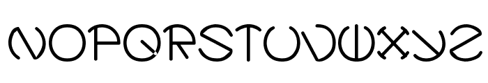 Zirkle Font UPPERCASE