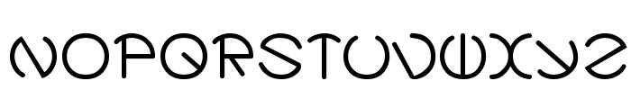ZirkleOne Bold Font UPPERCASE