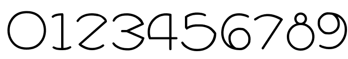ZirkleOne Regular Font OTHER CHARS