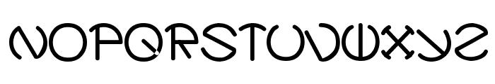 Zirkle Font LOWERCASE