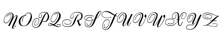 Zirkon Font UPPERCASE