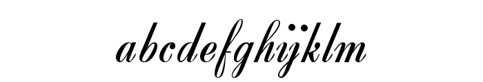 Zirkon Font LOWERCASE