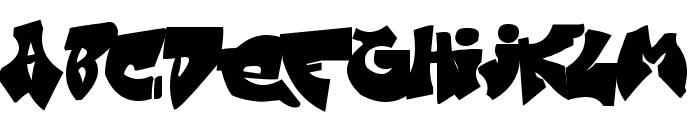 Zit Graffiti Font LOWERCASE