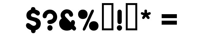 Zitti Font OTHER CHARS