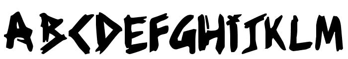 ziperhead Font UPPERCASE