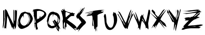 ziperhead Font LOWERCASE