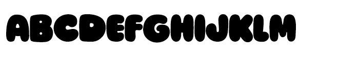 Ziclets Regular Font UPPERCASE