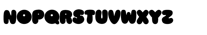 Ziclets Regular Font LOWERCASE