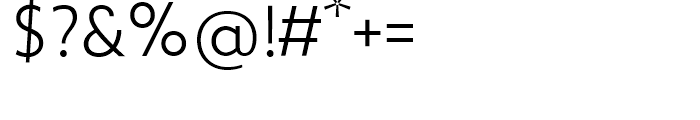 Zigfrid Light Font OTHER CHARS