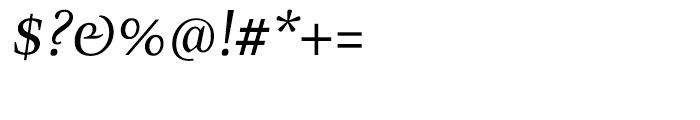 Zingha Regular Italic Font OTHER CHARS