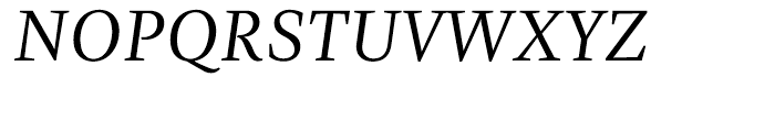 Zingha Regular Italic Font UPPERCASE