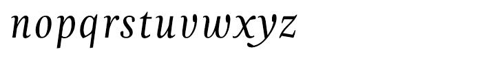 Zingha Regular Italic Font LOWERCASE