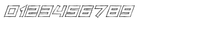 Zip Sonik Sketch Italic Font OTHER CHARS