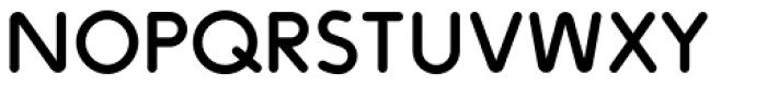 ZIGZAG Rounded Font LOWERCASE