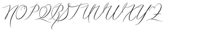Zially Regular Font UPPERCASE