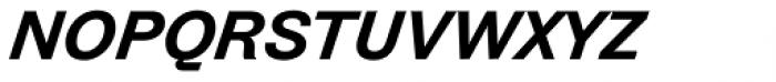Zierde Grotesk Demibold Italic Font LOWERCASE
