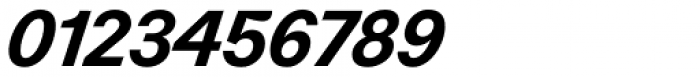 Zierde Grotesk Semibold Italic Font OTHER CHARS