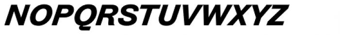 Zierde Grotesk Semibold Italic Font LOWERCASE