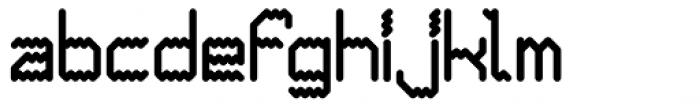 Ziggy Sans Bold Font LOWERCASE