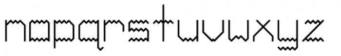 Ziggy Sans Regular Font LOWERCASE