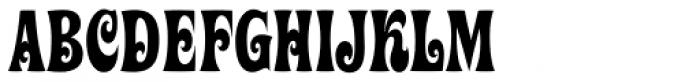 Ziggy Std Font UPPERCASE