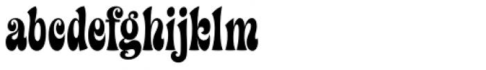 Ziggy Std Font LOWERCASE