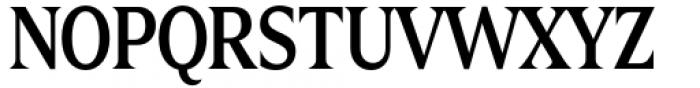 Zin Display Condensed Medium Font UPPERCASE