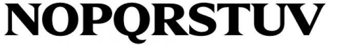 Zin Display Extended Black Font UPPERCASE