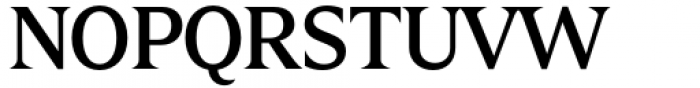 Zin Display Medium Font UPPERCASE