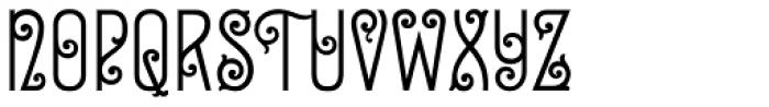 Zinc Italian SG Regular Font UPPERCASE