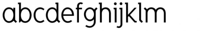 Zinc Font LOWERCASE