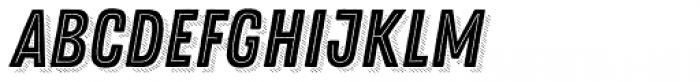 Zing Rust Base2 Line Shadow5 Font LOWERCASE