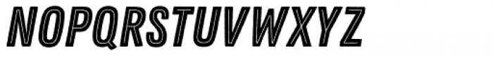 Zing Rust Base2 Line Font UPPERCASE