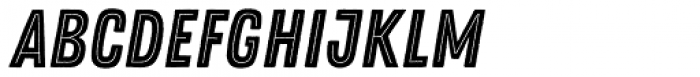 Zing Rust Base2 Line Font LOWERCASE