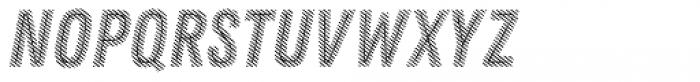 Zing Rust Diagonals1 Base Line Font UPPERCASE