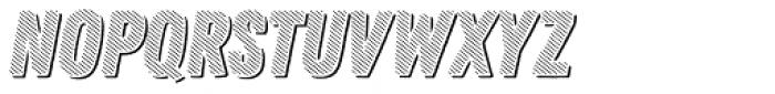 Zing Rust Diagonals2 Base Shadow1 Font UPPERCASE