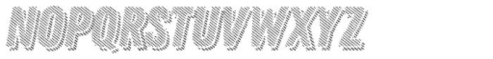 Zing Rust Diagonals2 Base Shadow3 Font LOWERCASE