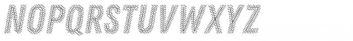 Zing Rust Diagonals2 Base2 Line Font LOWERCASE