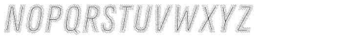 Zing Rust Diagonals3 Base2 Line Font UPPERCASE