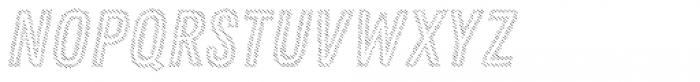 Zing Rust Diagonals3 Base2 Font UPPERCASE