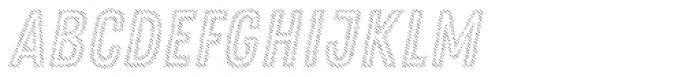 Zing Rust Diagonals3 Base2 Font LOWERCASE