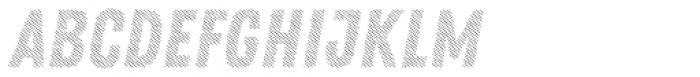 Zing Rust Diagonals3 Base Font LOWERCASE