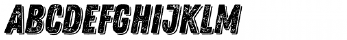 Zing Rust Grunge1 Base Shadow1 Font UPPERCASE