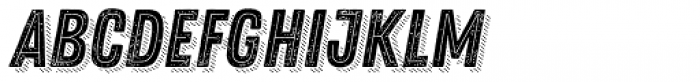 Zing Rust Grunge1 Base2 Line Shadow4 Font LOWERCASE